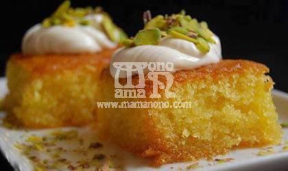 كيك الرواني - مطبخ ماما نونو أشهى المأكولات - مطبخ ماما نونو