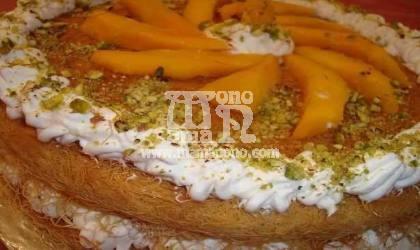 الكنافه بالمانجو - مطبخ ماما نونو أشهى المأكولات - مطبخ ماما نونو